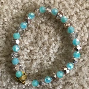 Jewelry - Erimish blue and silver bracelet